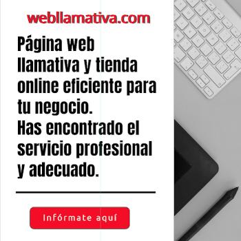 webllamativa.com diseño web llamativo